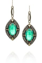 Lulu Frost Absinthe Crystal Drop Earrings - Lyst