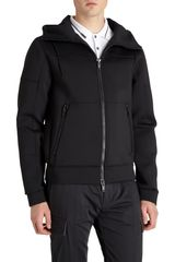Marc By Marc Jacobs Zip Front Tech Hoodie - Lyst
