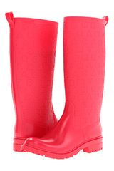 Marc By Marc Jacobs Dreamy Logo Rubber Rain Boots - Lyst