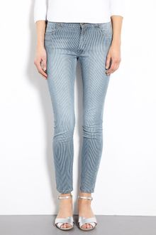 Paul & Joe Sister Donut Self Stripe Rolled Denim Jeans - Lyst