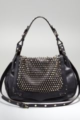 Rebecca Minkoff Moonstruck Studded Hobo Bag - Lyst