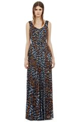 Reiss Effie Printed Maxi Dress in Multicolor (multi) - Lyst