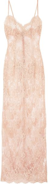 Rosamosario Principessa Intimacies Tulle and Lace Chemise - Lyst