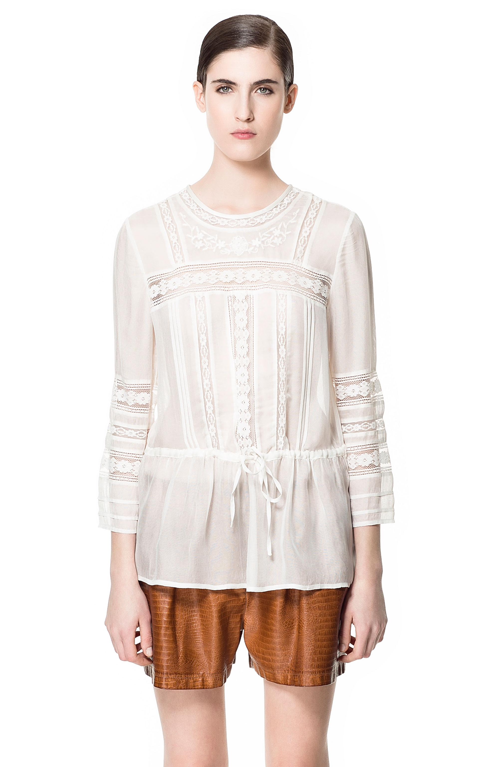Zara Long Sleeved Blouse 106