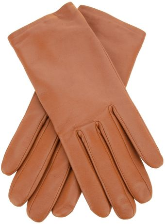 Agnelle Fitted Leather Glove - Lyst