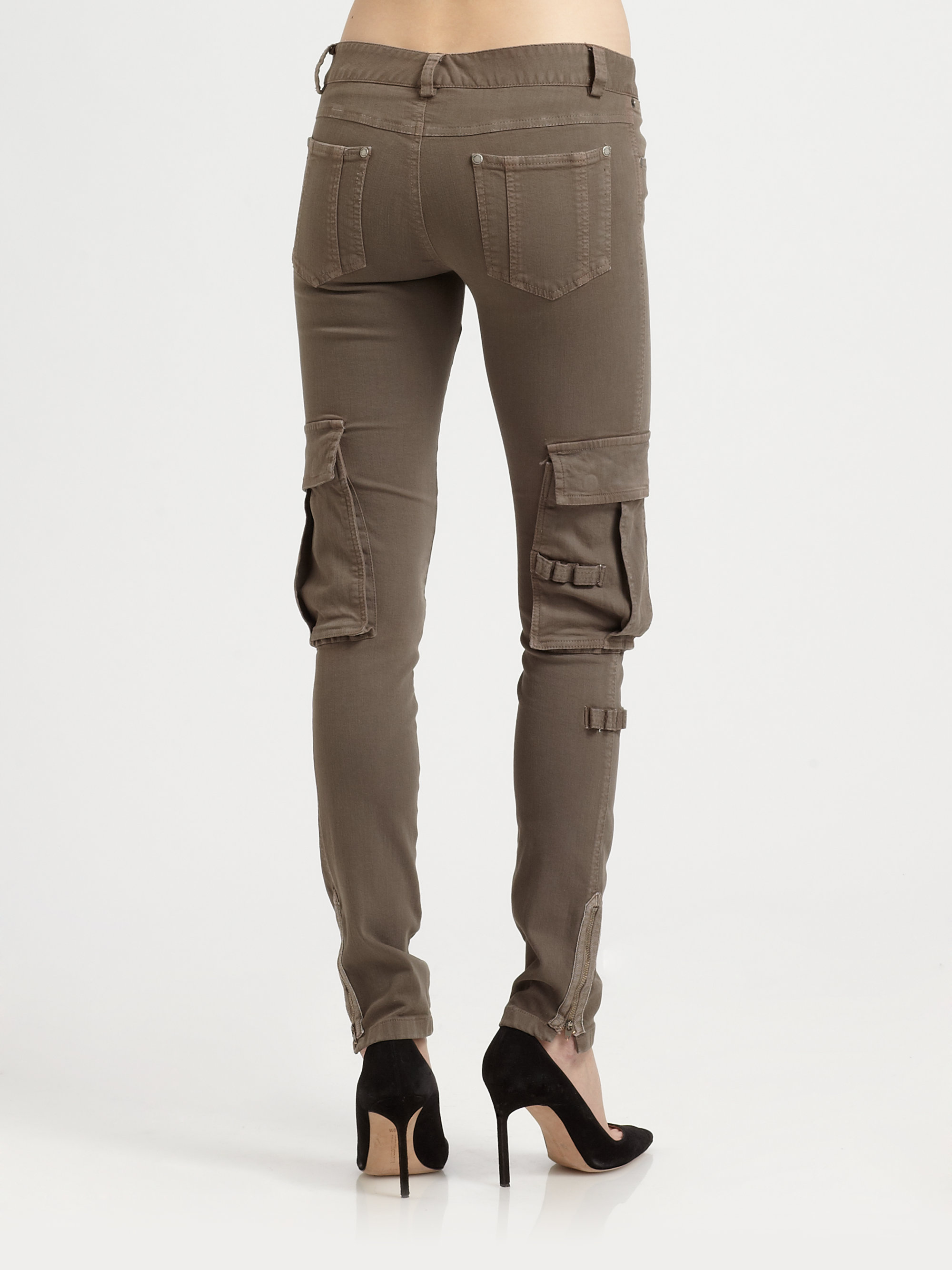 Brilliant Womens Olive Green Cargo Pants  Pant Olo