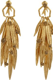 Aurelie Bidermann Surfing Mimosa Drop Earrings - Lyst