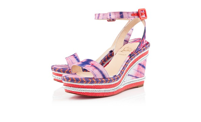 christian louboutin duplice espadrille wedge sandals