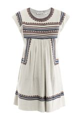 Etoile Isabel Marant Demma Embroidered Dress - Lyst