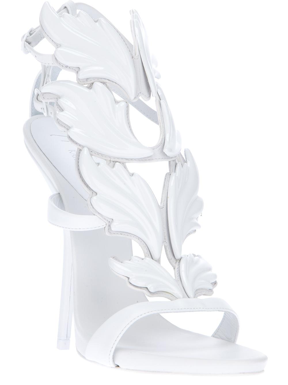 94549ebb9ced9 Giuseppe Zanotti 'Cruel Summer' Sandals in White - Lyst