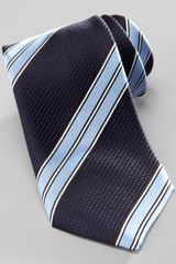 Hugo Boss Striped Silk Tie - Lyst