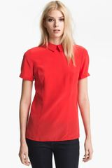 Marc By Marc Jacobs Bowery Silk Blouse - Lyst