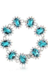 Mawi Linked Crystal Bracelet - Lyst