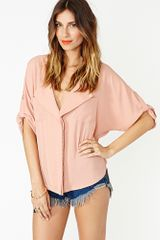 Nasty Gal Margot Blouse - Lyst
