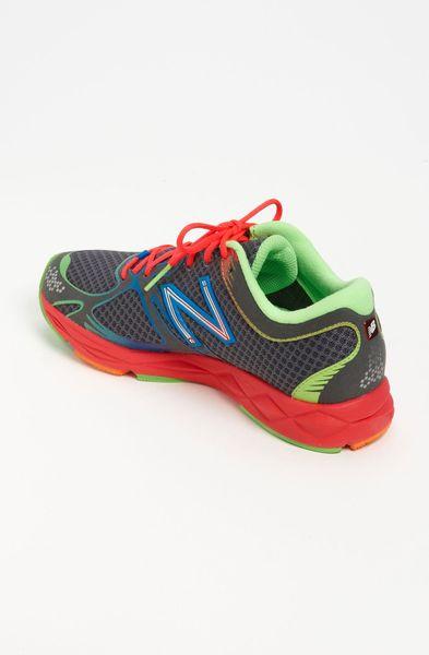 New Balance  Womens Rainbow Multi Colored Running Shoes