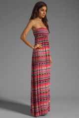 Rachel Pally Loveboat Strapless Dress in Multicolor (granita folk stripe) - Lyst