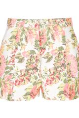 Stella McCartney Floral Short