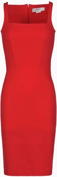 Stella Mccartney Knee Length in Red - Lyst