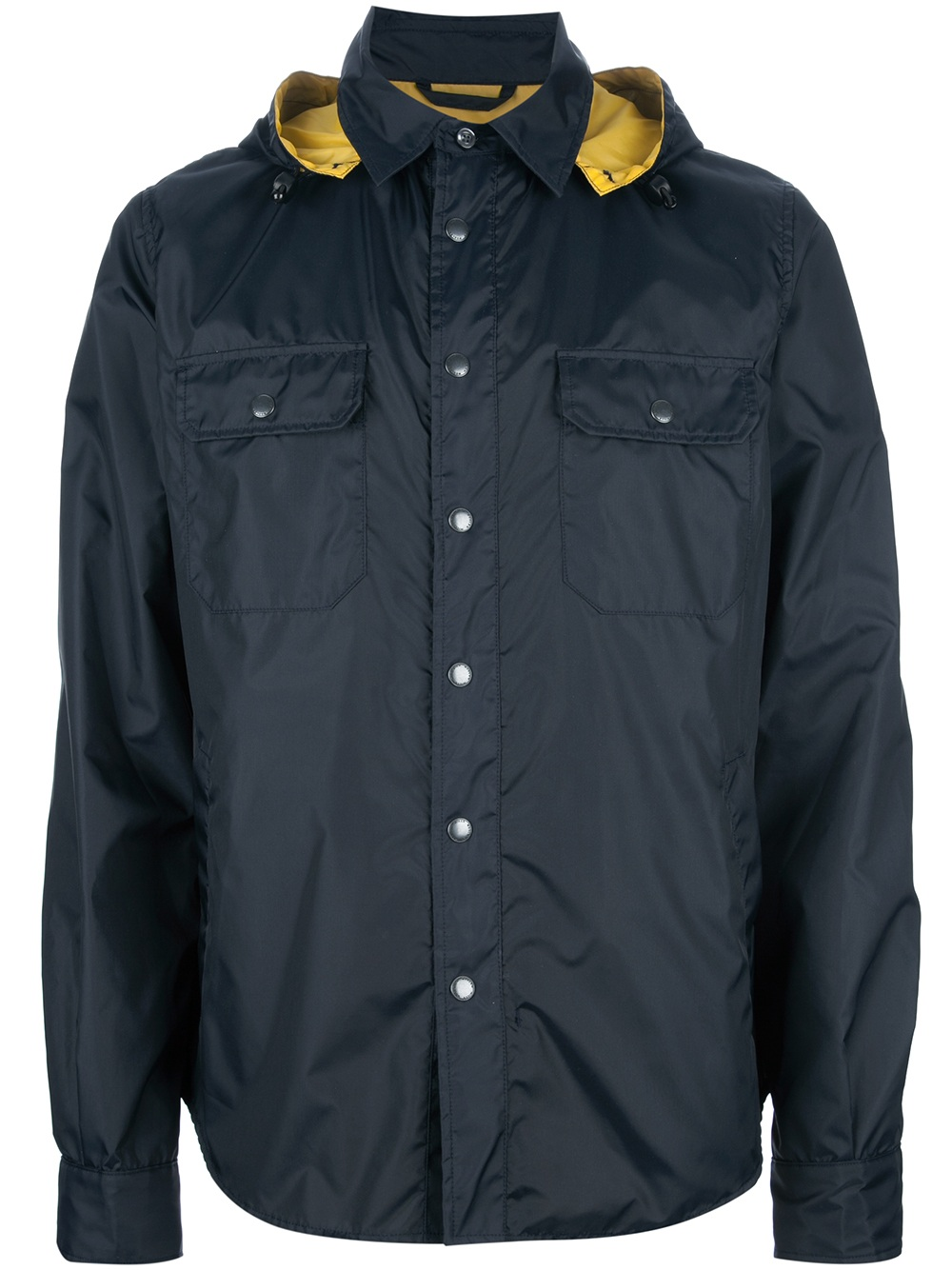 woolrich all weather jacket in blue for men lyst. Black Bedroom Furniture Sets. Home Design Ideas