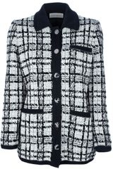 Yves Saint Laurent Vintage Boucle Jacket - Lyst