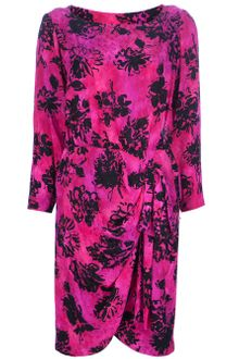 Yves Saint Laurent Vintage Print Dress - Lyst