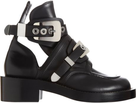 Ankle Boots Buckles Buckle Strap Ankle Boot in