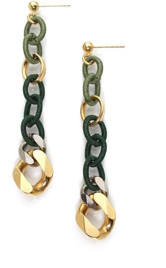 Byrufina Light and Funky Earrings Green - Lyst