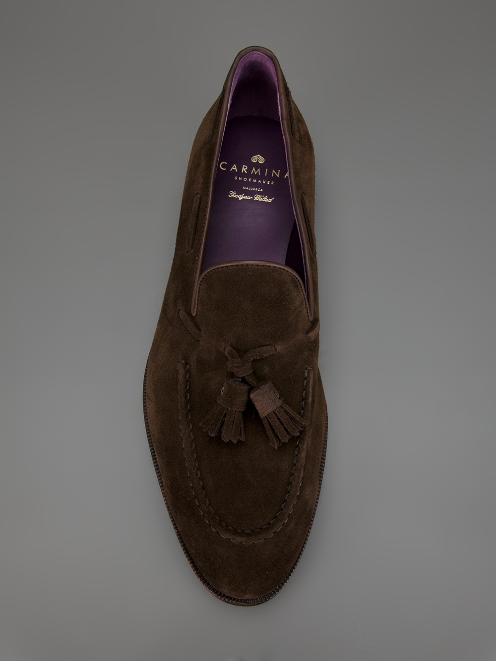 ca82ccb01f7 Lyst - Carmina Shoemaker Tassel Loafer in Brown for Men
