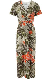Cc Petite Jungle Print Dress - Lyst