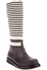 Damir Doma Striped Boot - Lyst