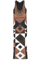 Givenchy Multi Print Maxi Dress in Multicolor (multi) - Lyst