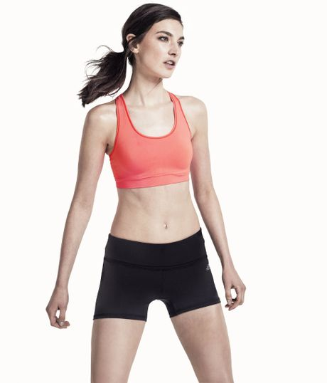 H&m Sports Bra in Orange (turquise) - Lyst