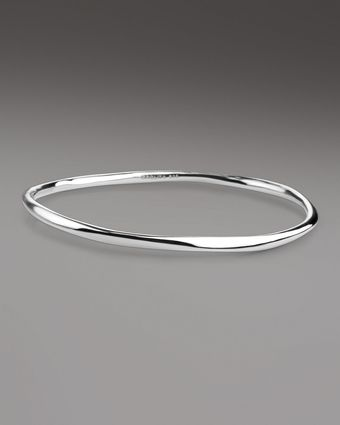 Ippolita Shiny Silver Squiggle Bangle - Lyst