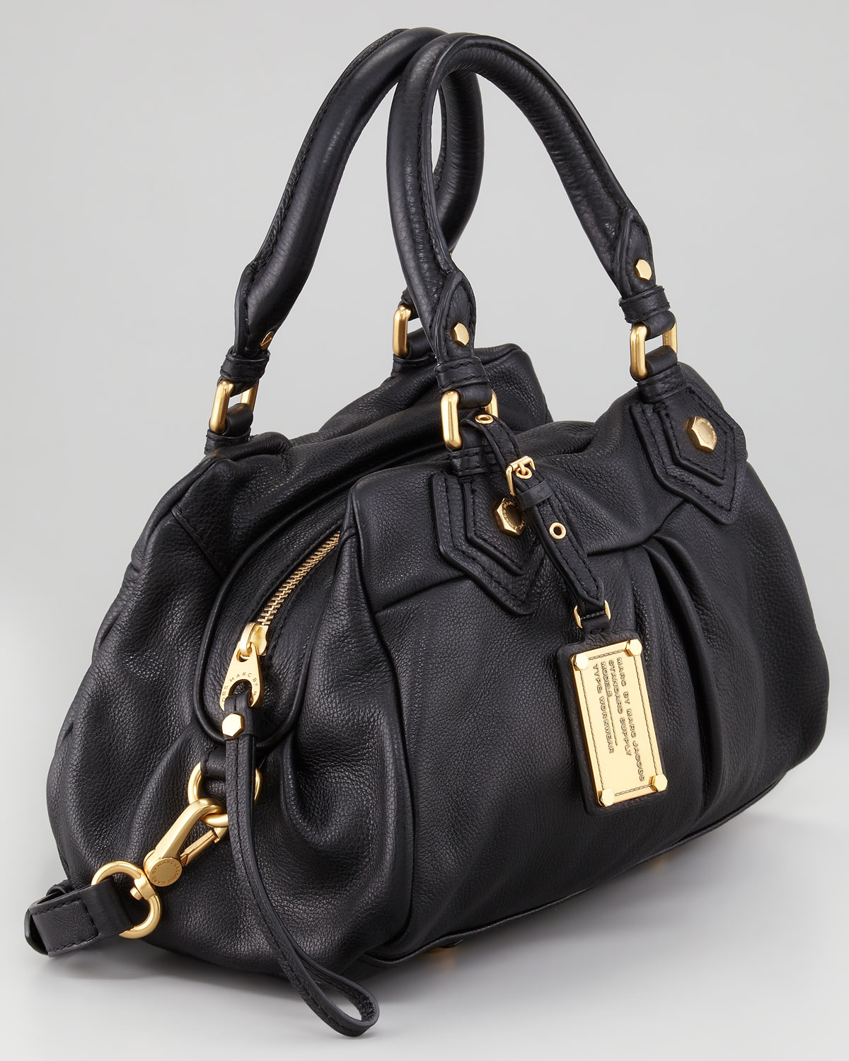 8a3a2487dd Marc By Marc Jacobs Classic Q Baby Groovee Satchel Bag Black in ...