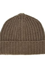 Melinda Gloss Knitted Hat - Lyst