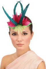 Nana' Ibad Graphic Shape Feather Headband - Lyst