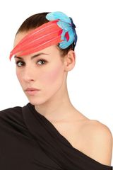 Nana' Irene Graphic Feather Headband - Lyst