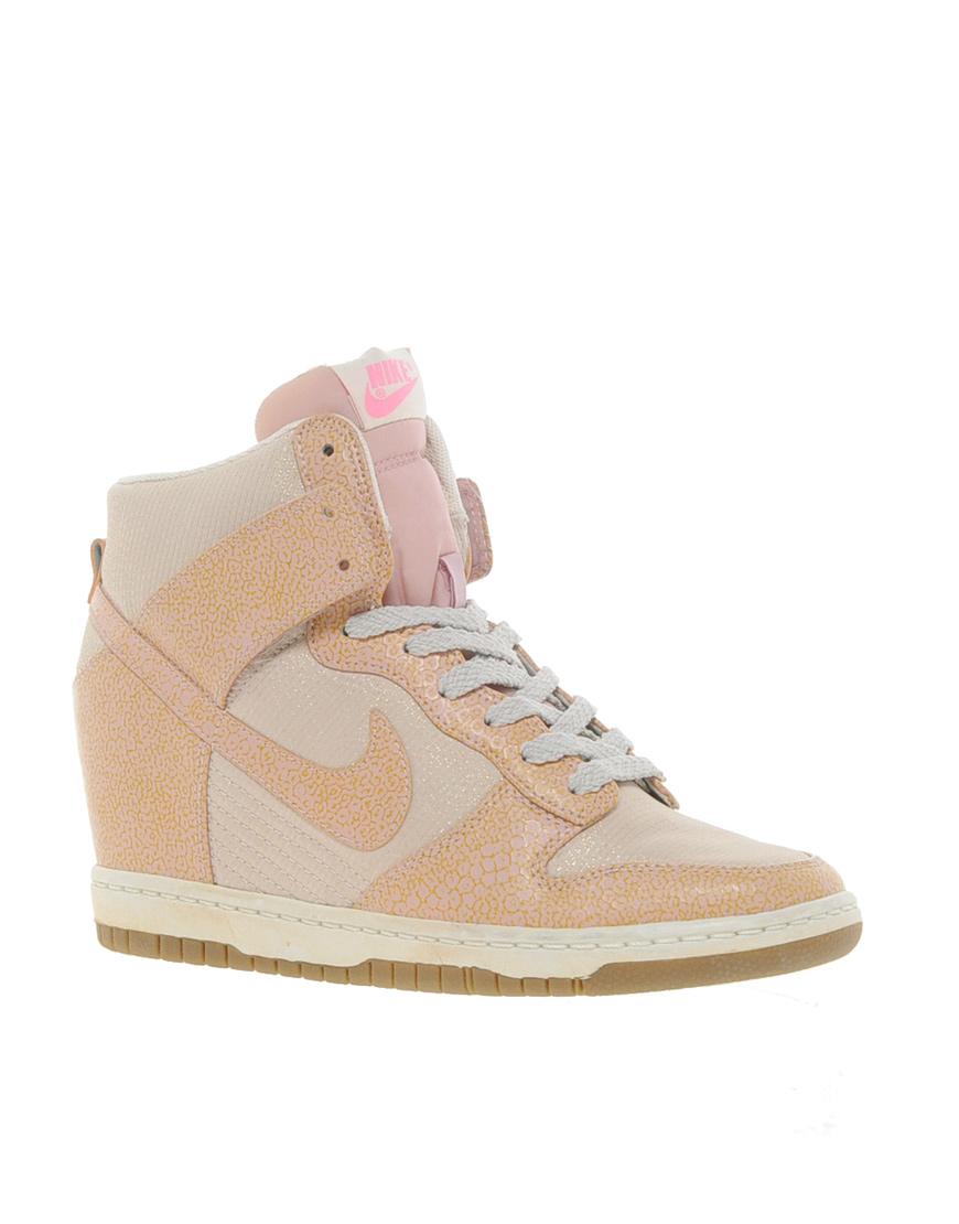Gallery. Women's Nike Dunk Women's Wedge Sneakers