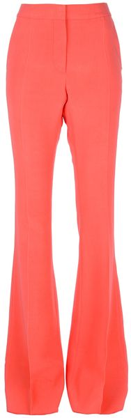 Stella McCartney Flared Trouser - Lyst