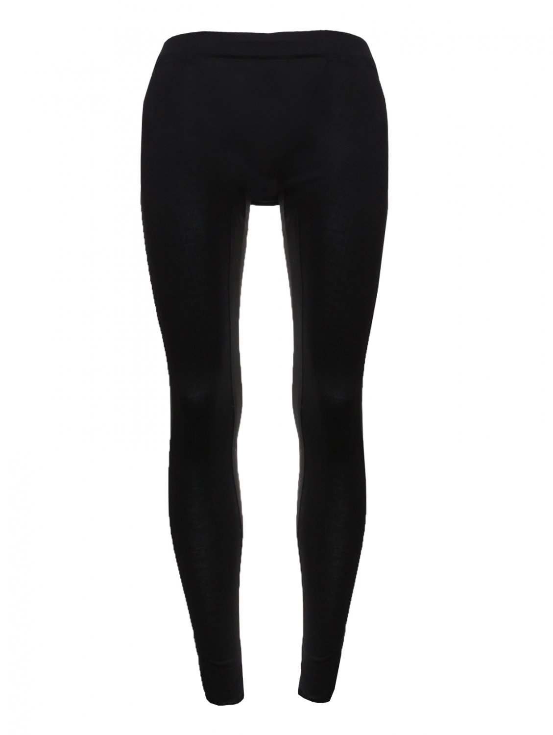Adidas slvr Silk Insert Elasticated Leggings Black in Black | Lyst