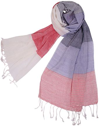 Ann Harvey Colour Block Scarf - Lyst
