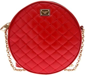 Dolce & Gabbana Quilted Mini Shoulder Bag - Lyst