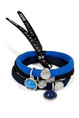 Marc By Marc Jacobs Bluemulti Ball Cluster Pony Hair Elastics