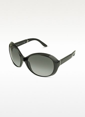 Prada Large Round Foldable Sunglasses - Lyst