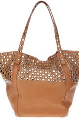 Sonia Rykiel Soft Studded Shopper - Lyst