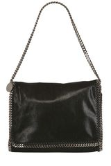 Stella McCartney Shaggy Faux Deer Shoulder Bag - Lyst