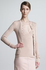The Row George Ribbed Cardigan - Lyst