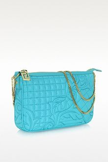 Versace Vanitas Quilted Leather Shoulder Bag - Lyst