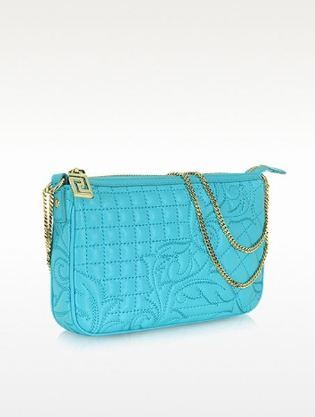 Versace Quilted Leather Shoulder Bag 61