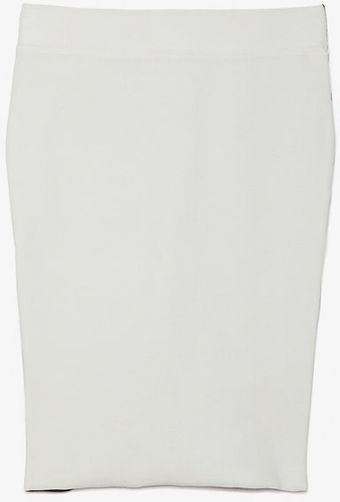 Exclusive For Intermix Stretch Knit Colorblock Pencil Skirt - Lyst